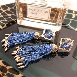 NWT Kendra Scott Misha rose gold tassel earrings